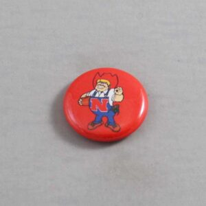 NCAA Nebraska Cornhuskers Button 03