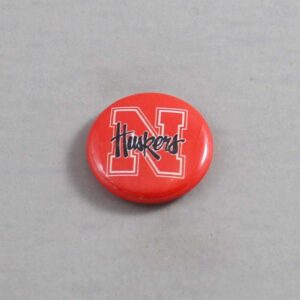 NCAA Nebraska Cornhuskers Button 04