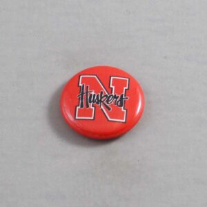 NCAA Nebraska Cornhuskers Button 06