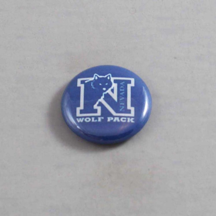 NCAA Nevada Wolf Pack Button 01