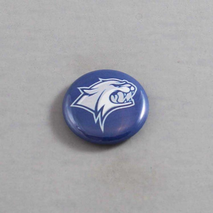 NCAA New Hampshire Wildcats Button 01
