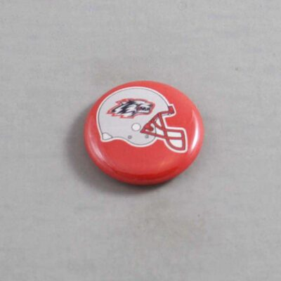 NCAA New Mexico Lobos Button 02