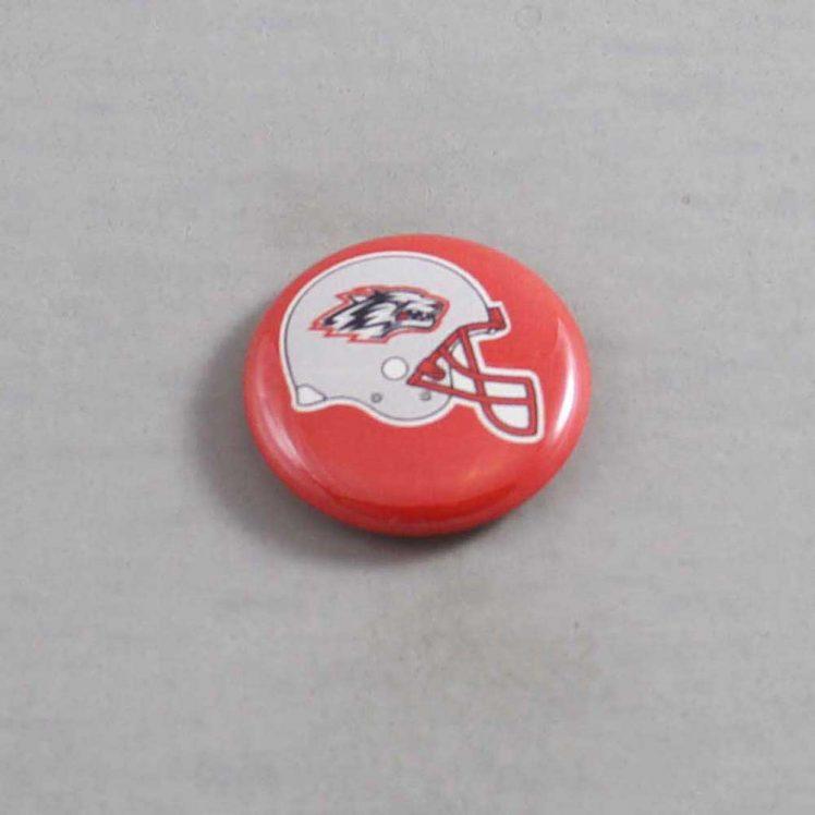 NCAA New Mexico Lobos Button 02