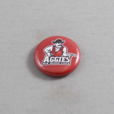NCAA New Mexico State Aggies Button 01