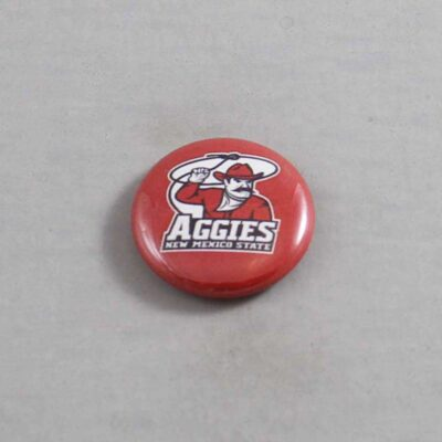 NCAA New Mexico State Aggies Button 03