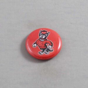 NCAA North Carolina State Wolfpack Button 04
