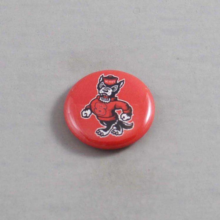 NCAA North Carolina State Wolfpack Button 04