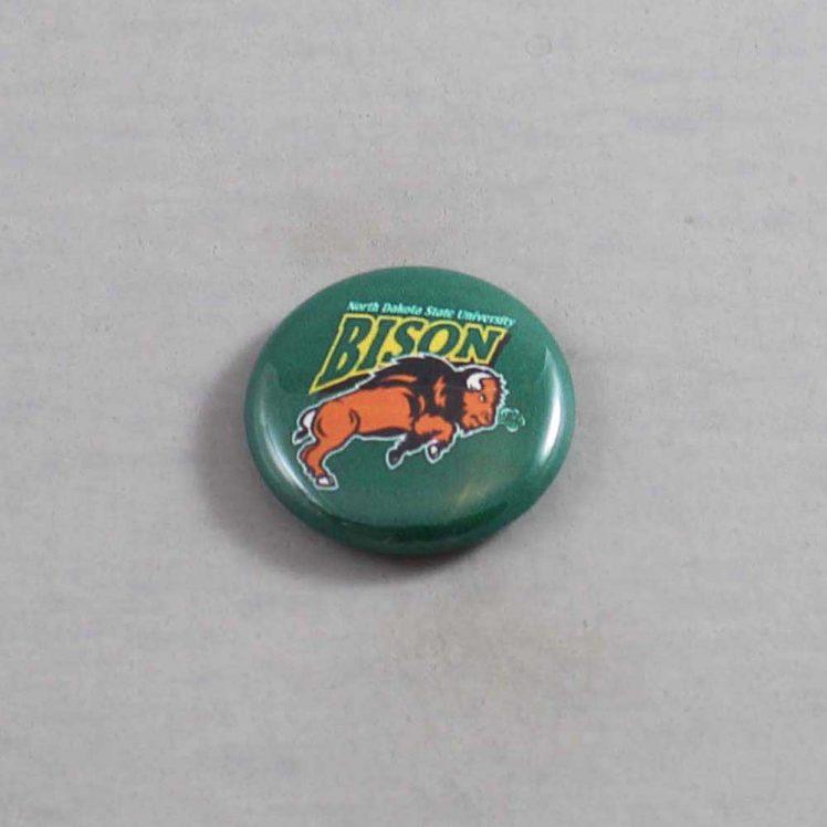 NCAA North Dakota State Bison Button 01