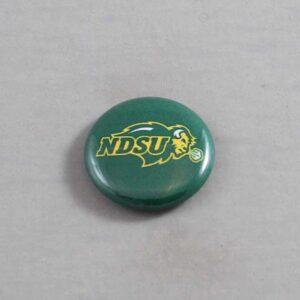 NCAA North Dakota State Bison Button 04