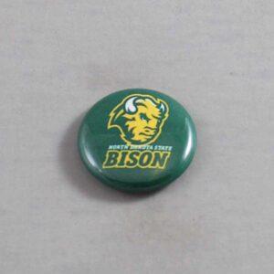 NCAA North Dakota State Bison Button 06