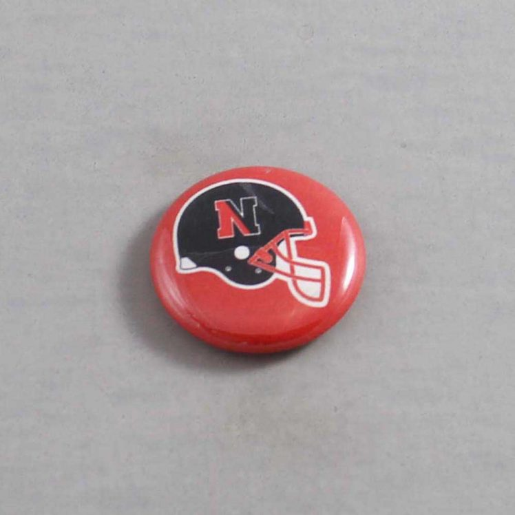 NCAA Northeastern Huskies Button 02