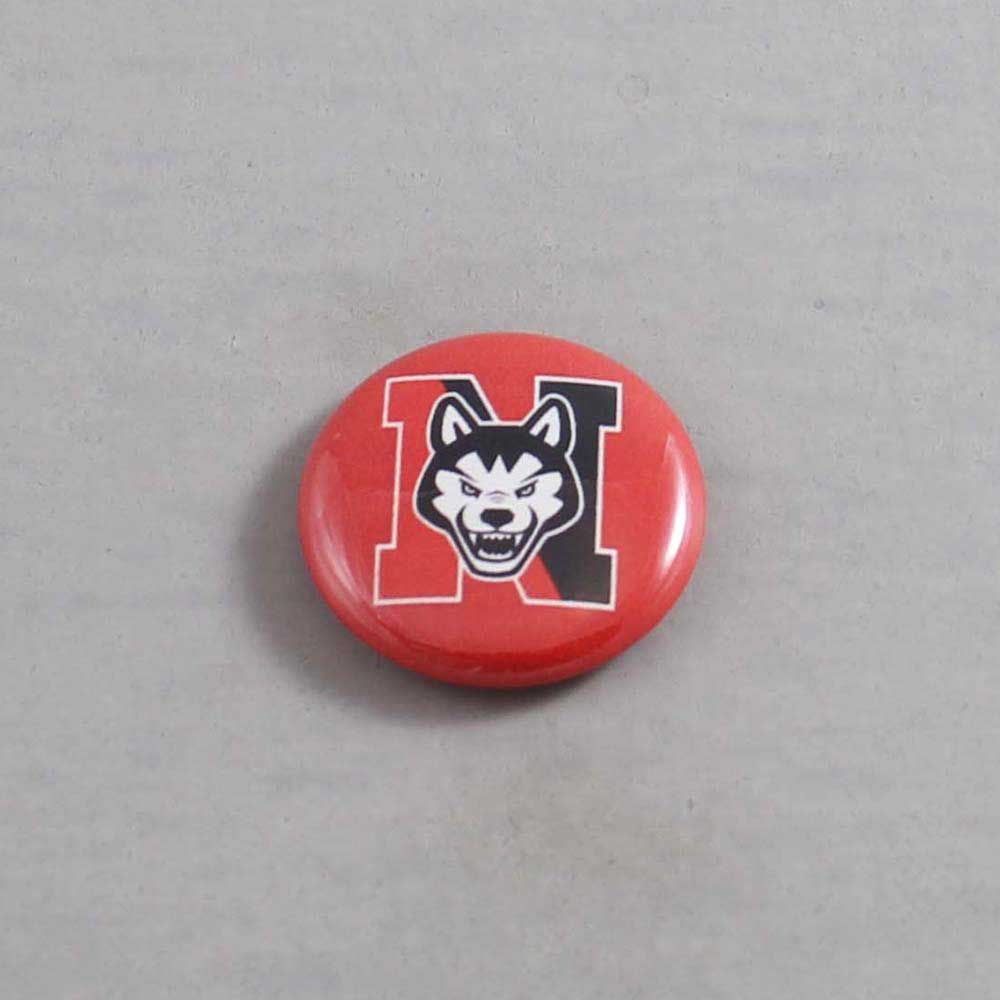 NCAA Northeastern Huskies Button 03