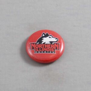 NCAA Northern Illinois Huskies Button 03