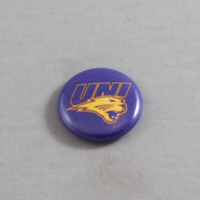NCAA Northern Iowa Panthers Button 01