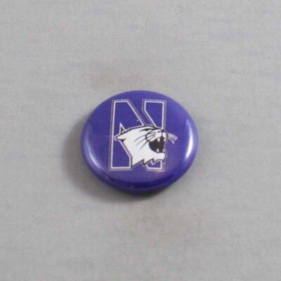 NCAA Northwestern Wildcats Button 01