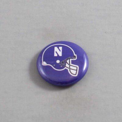 NCAA Northwestern Wildcats Button 02