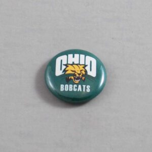 NCAA Ohio Bobcats Button 01