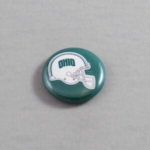 NCAA Ohio Bobcats Button 02
