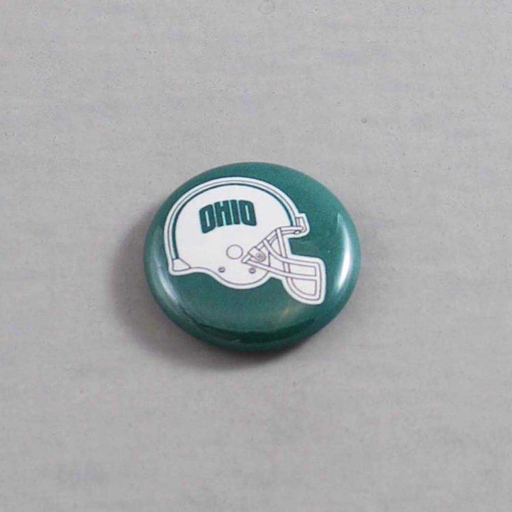 NCAA Ohio Bobcats Button 02