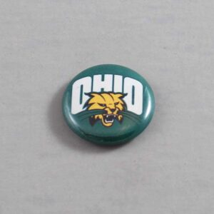 NCAA Ohio Bobcats Button 03