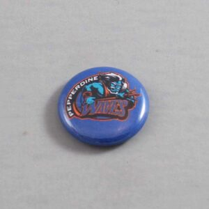 NCAA Pepperdine Waves Button 02