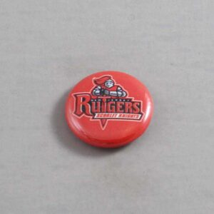 NCAA Rutgers Scarlet Knights Button 01