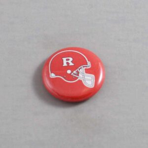 NCAA Rutgers Scarlet Knights Button 02