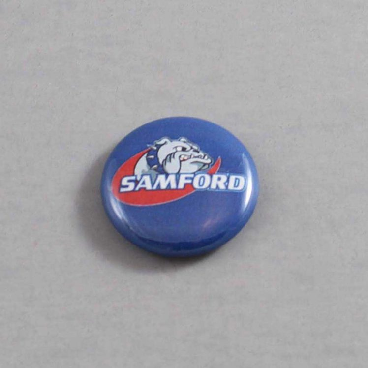 NCAA Samford Bulldogs Button 01