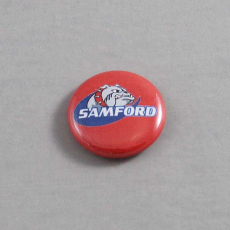 NCAA Samford Bulldogs Button 04