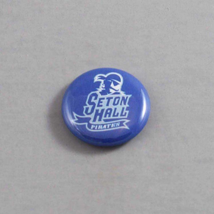 NCAA Seton Hall Pirates Button 02