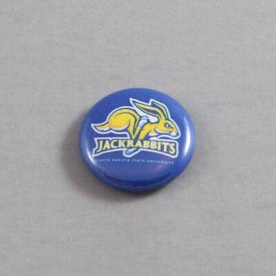 NCAA South Dakota State Jackrabbits Button 01