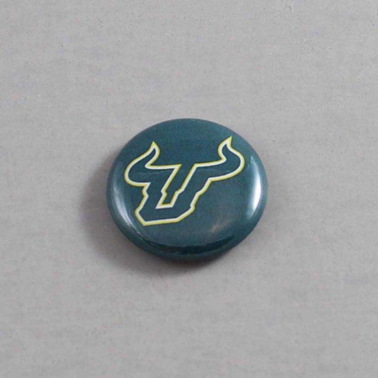 NCAA South Florida Bulls Button 01