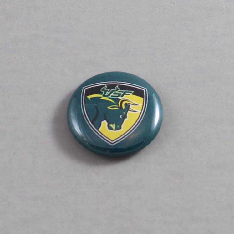 NCAA South Florida Bulls Button 04