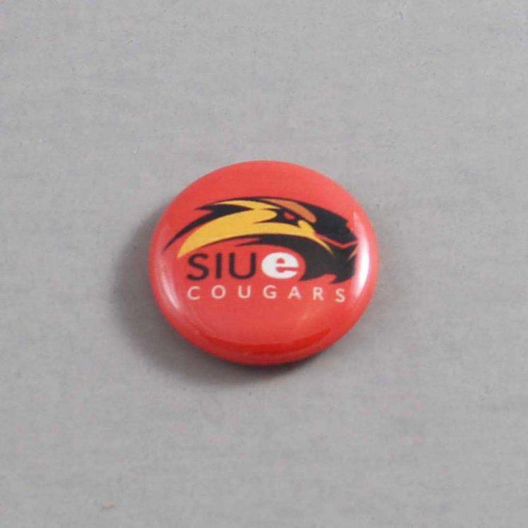NCAA Southern Illinois Edwardsville Cougars Button 01
