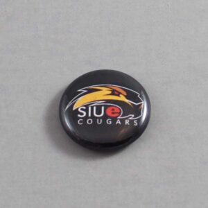 NCAA Southern Illinois Edwardsville Cougars Button 03 Blue