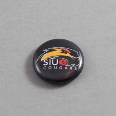 NCAA Southern Illinois Edwardsville Cougars Button 03 Blue