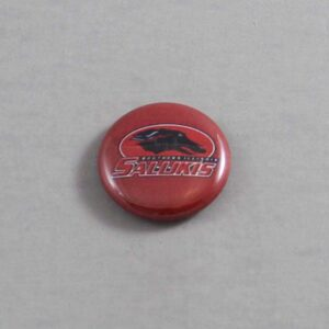 NCAA Southern Illinois Salukis Button 01