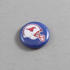 NCAA Southern Methodist Mustangs Button 02