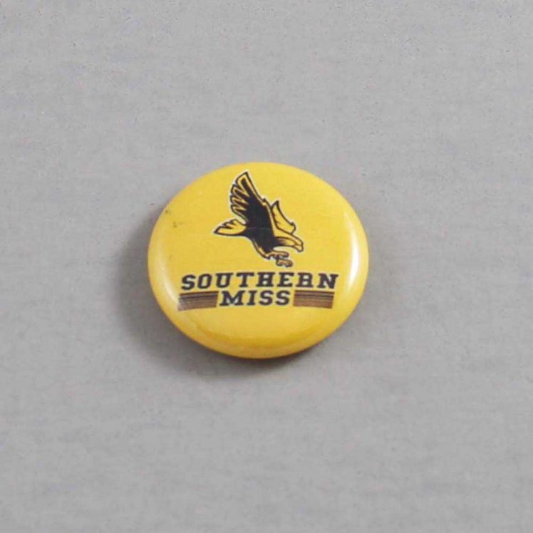 NCAA Southern Mississippi Golden Eagles Button 02