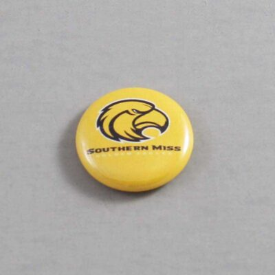 NCAA Southern Mississippi Golden Eagles Button 04