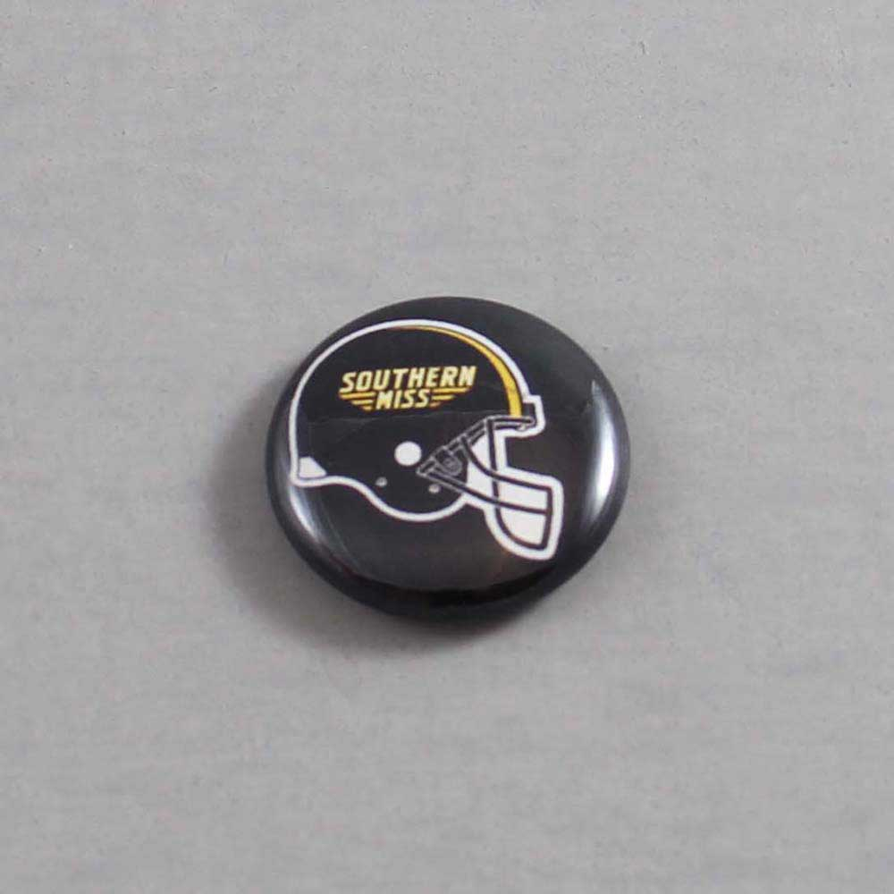 NCAA Southern Mississippi Golden Eagles Button 05
