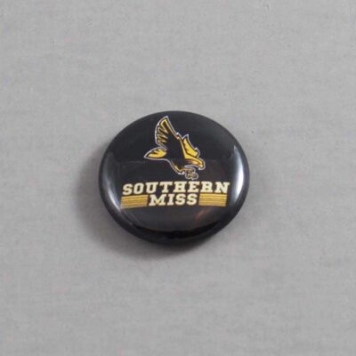 NCAA Southern Mississippi Golden Eagles Button 06