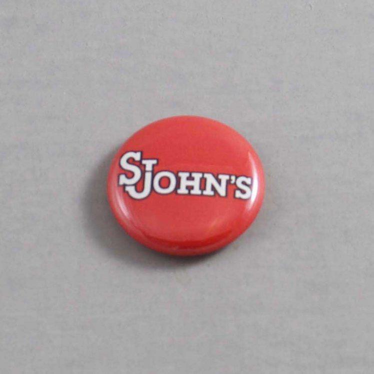 NCAA St John's Red Storm Button 05