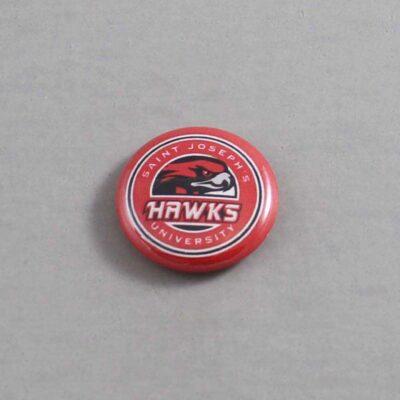 NCAA St Josephs Hawks Button 01