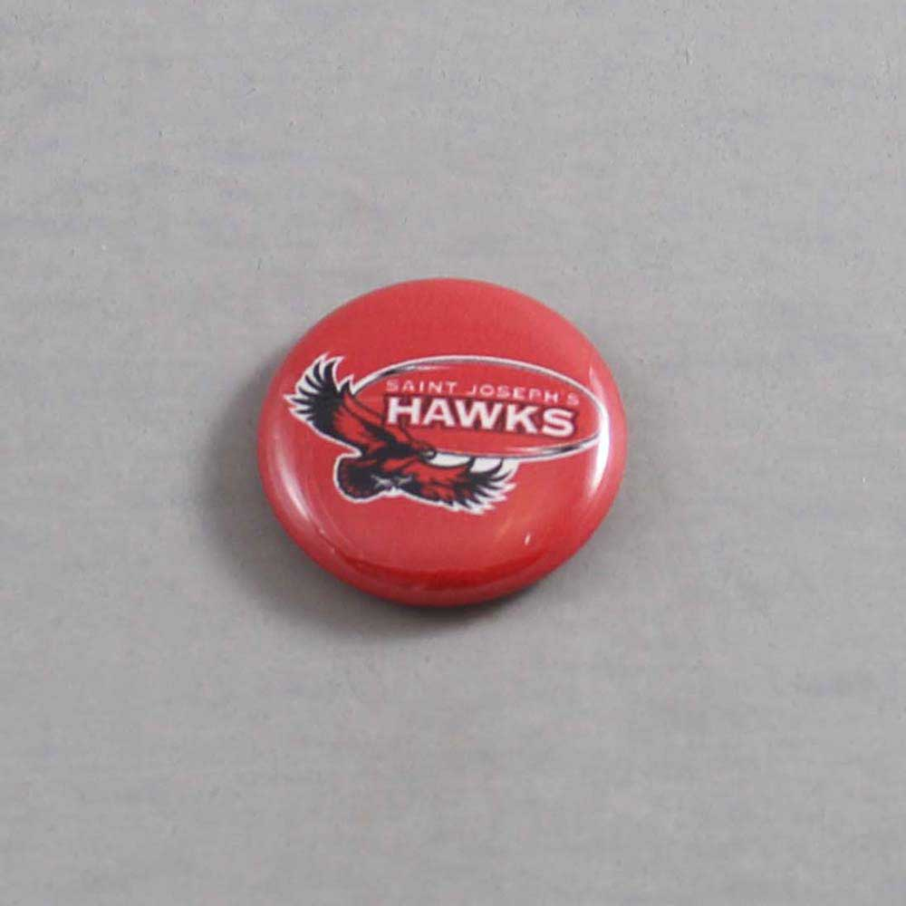 NCAA St Josephs Hawks Button 02