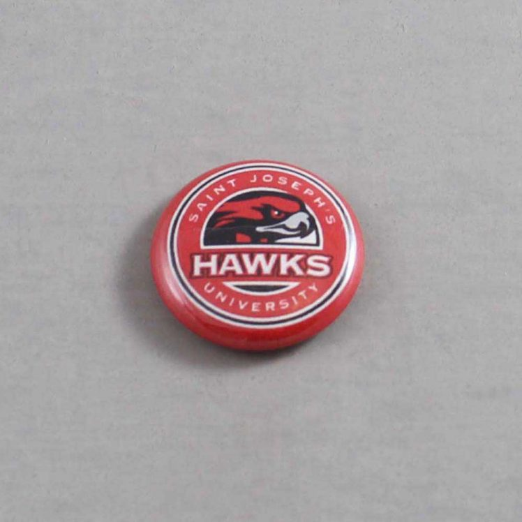 NCAA St Josephs Hawks Button 04