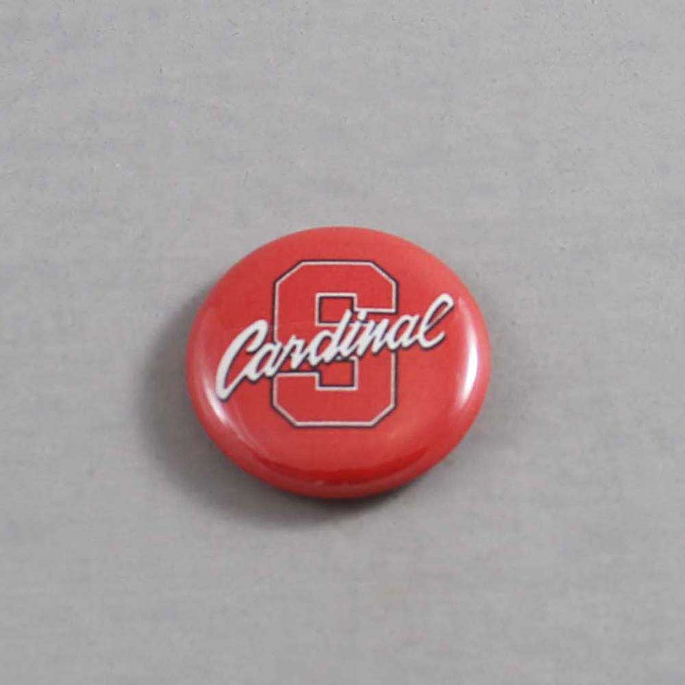 NCAA Stanford Cardinals Button 04