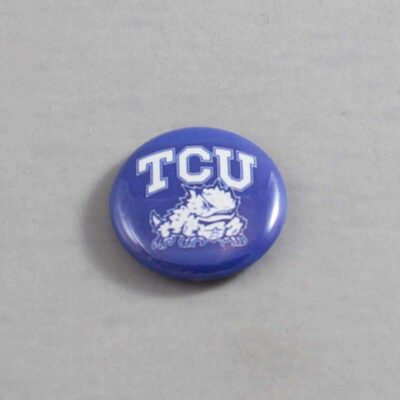 NCAA Texas Christian Horned Frogs Button 01