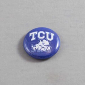 NCAA Texas Christian Horned Frogs Button 03