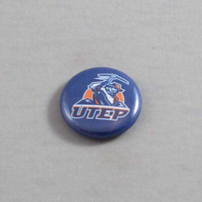 NCAA Texas El Paso Miners Button 01